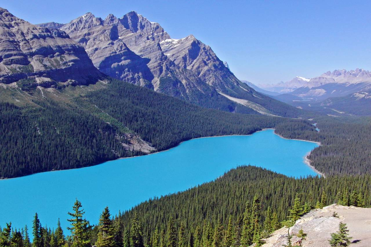 Peyto Lake bei Banff