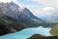 Blick auf die Rocky Mountain's von Banff Alberta