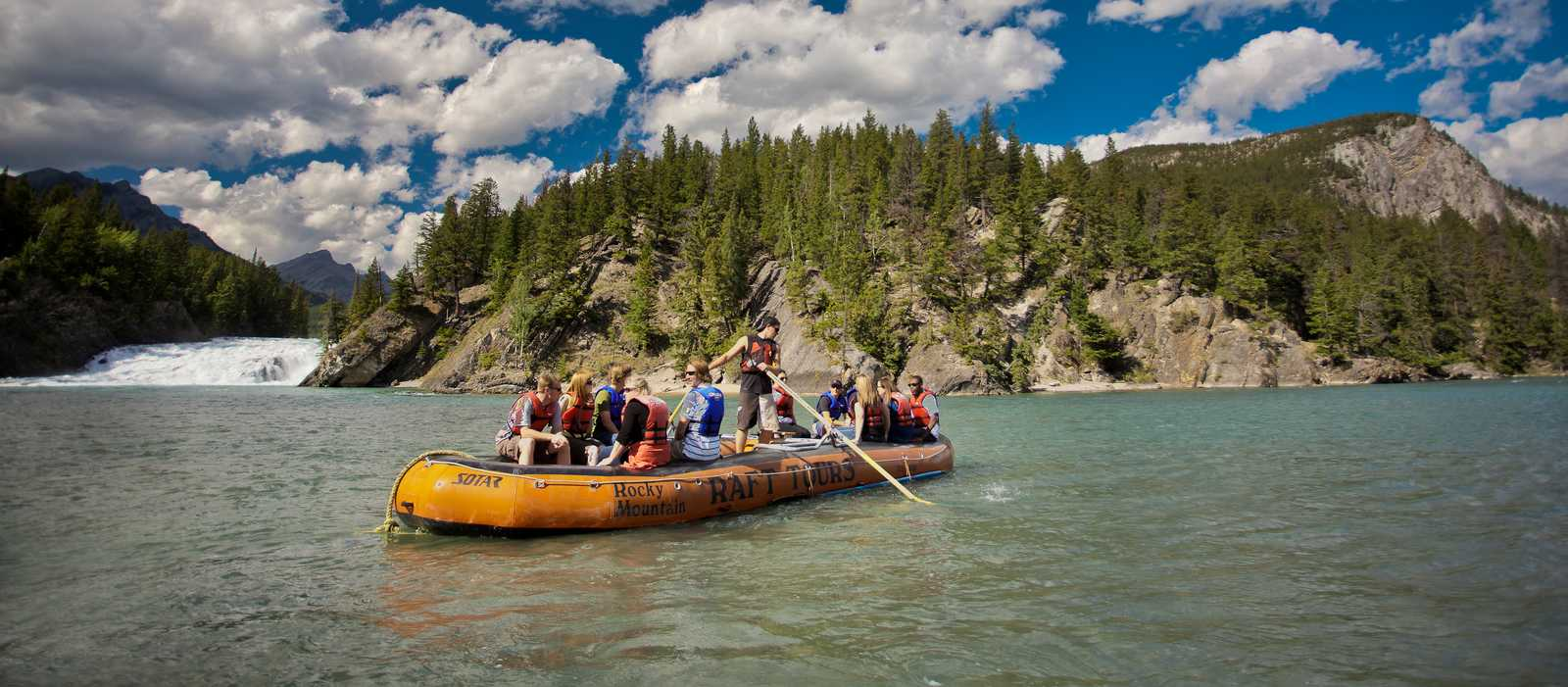 Rafting Bow River