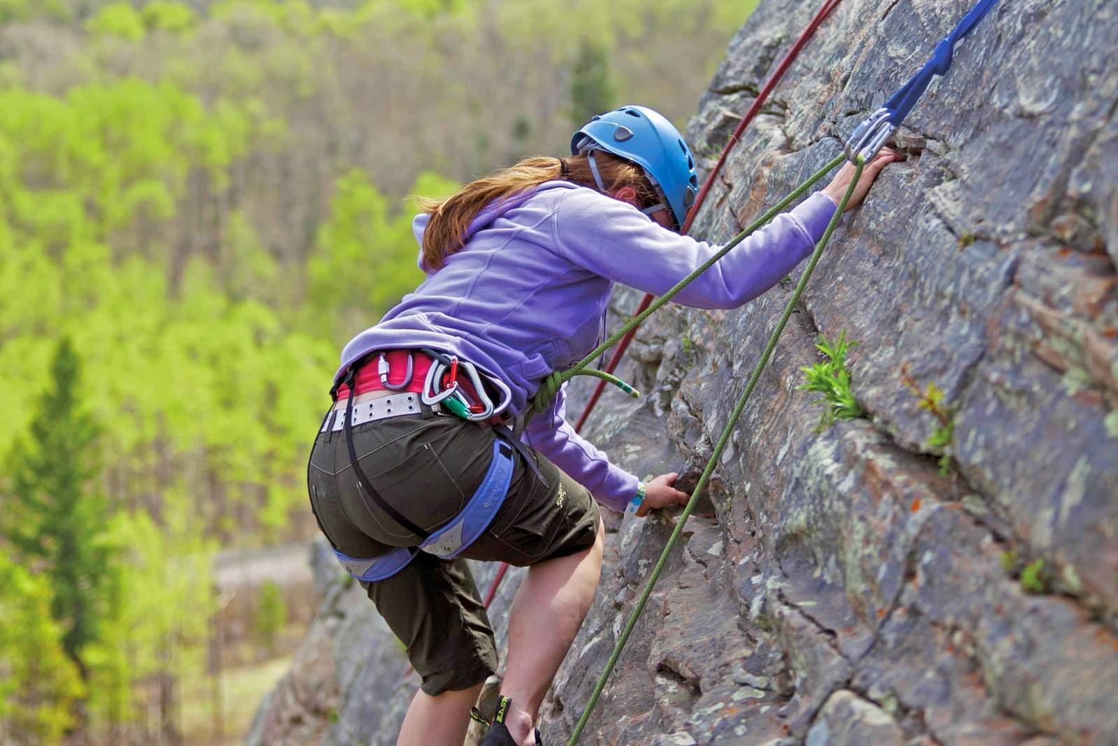 Rock Climbing im Banff National Park
