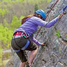 Rock Climbing im Banff National Park