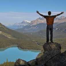 Lake Peyto Summit