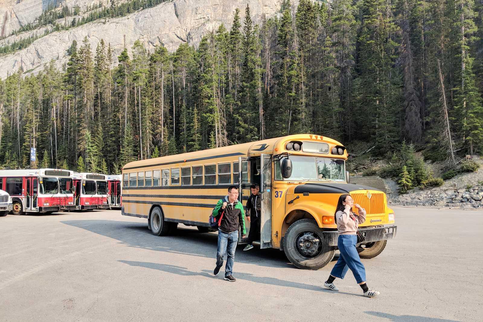 Schulbus-Shuttle