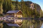 Teehaus am Lake Agnes