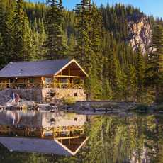 Lake Louise - Tea House