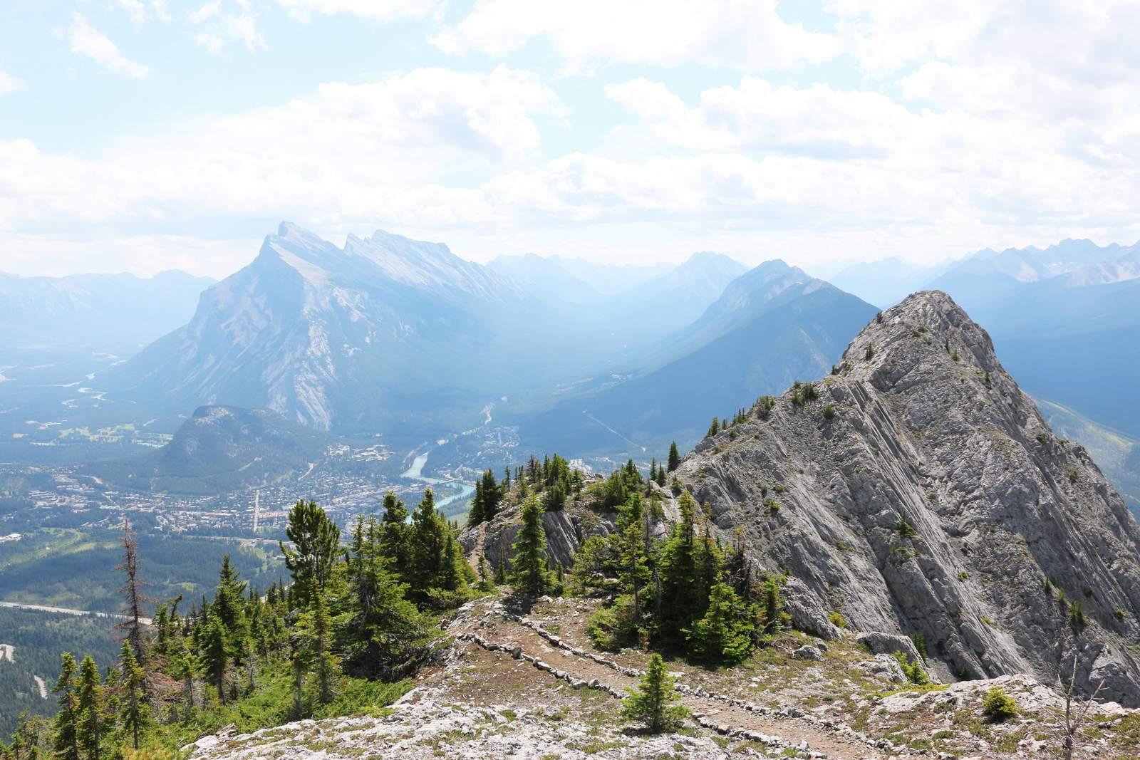 Via Ferrata Banff Ausblick