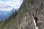 Via-Ferrata-Klettersteig am Mount Norquay