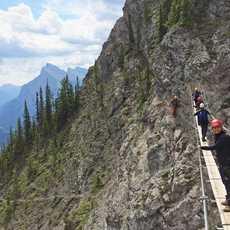 Via Ferrata Banff Haengebruecke