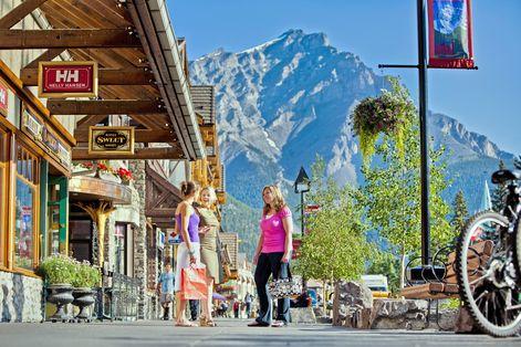Banff Village Shopping