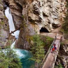 Johnston Canyon Wanderung