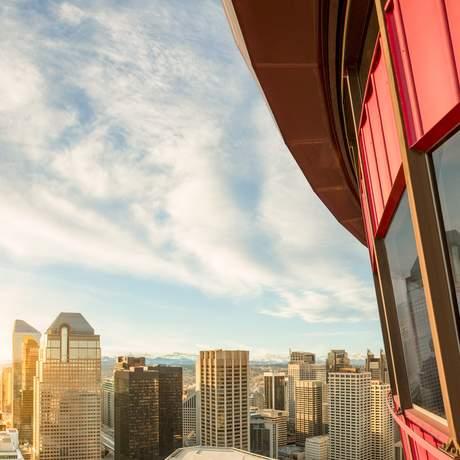 Aussicht vom Calgary Tower