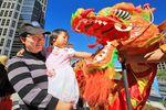 Das Chinatown Street Festival in Calgary Kanada