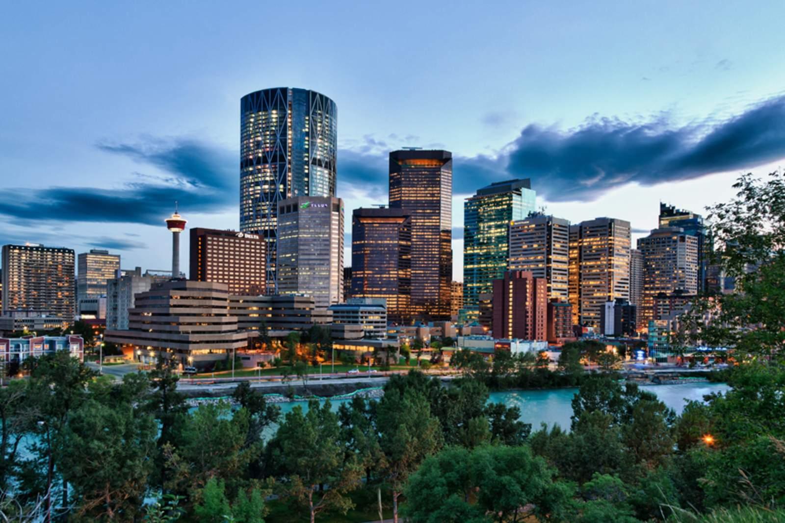 Skyline Dusk, Calgary