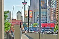 Der Calgary Tower in Calgary