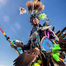 Indianer im Heritage Park Hostorical Village