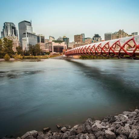 Peace Bridge in Calgary