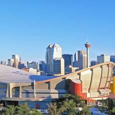 Skyline mit Saddledome