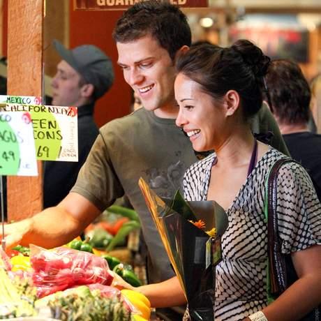Shoping Tour auf dem Farmers Market in Calgary, Kanada