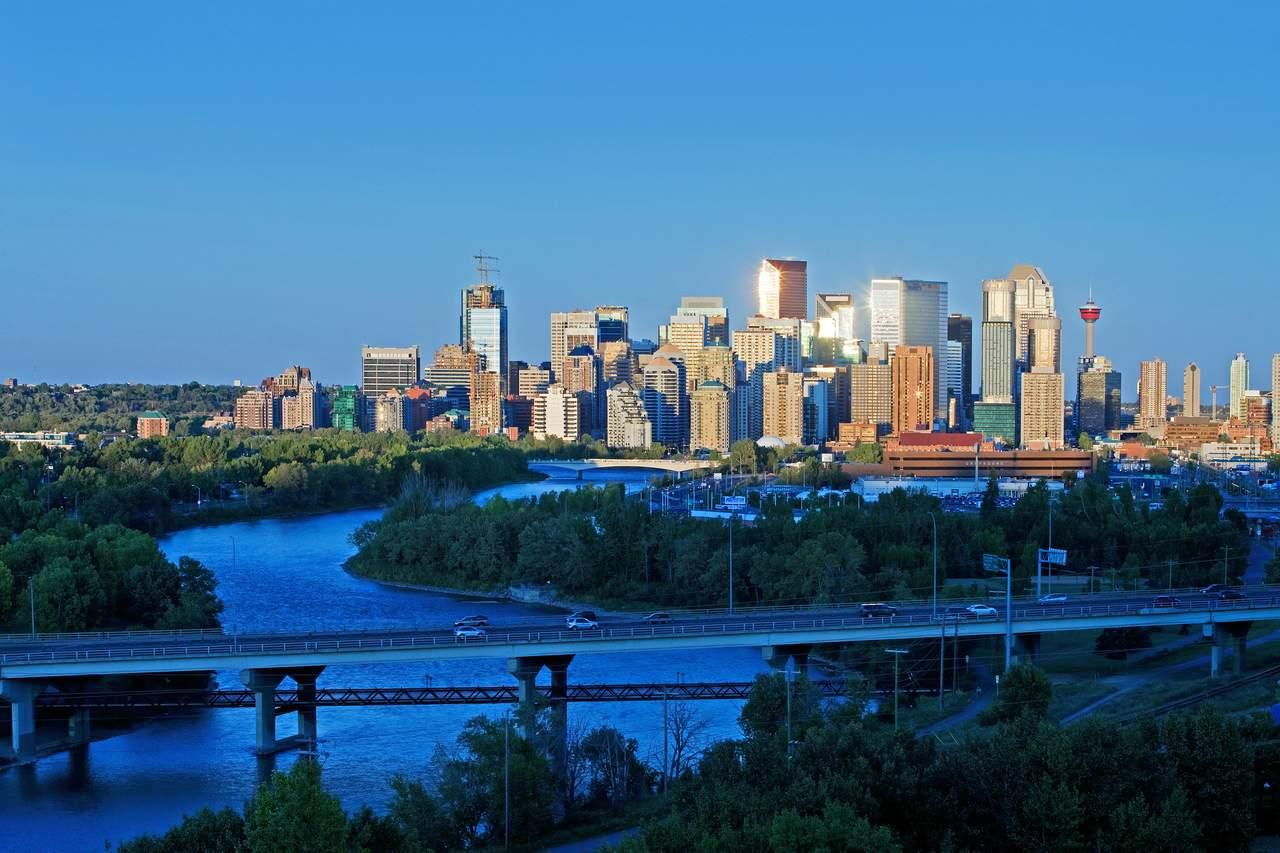 Sykline von Calgary