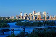 Die Calgary Skyline