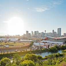 Blick auf Calgary
