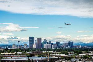 Die Skyline von Calgary