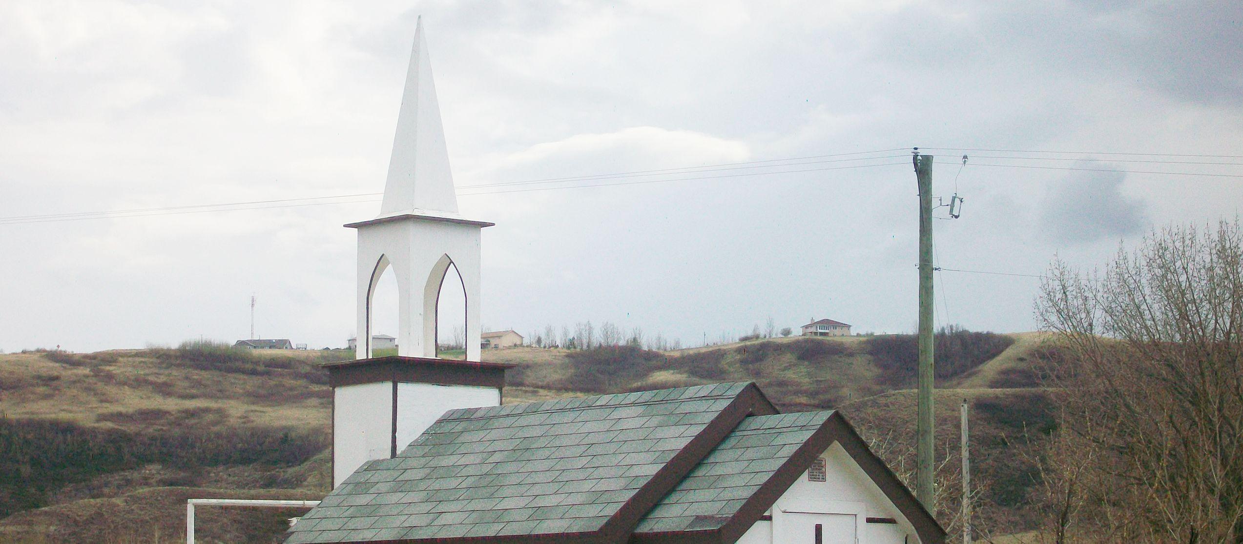 Drumheller Little Church