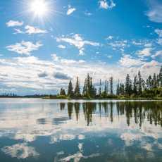 Elk Island Nationalpark in Edmonton in Edmonton