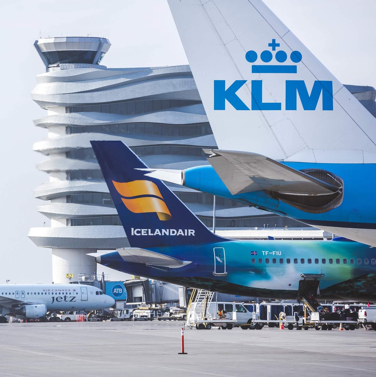Impressionen des Adrian Warchola Flughafen in Edmonton
