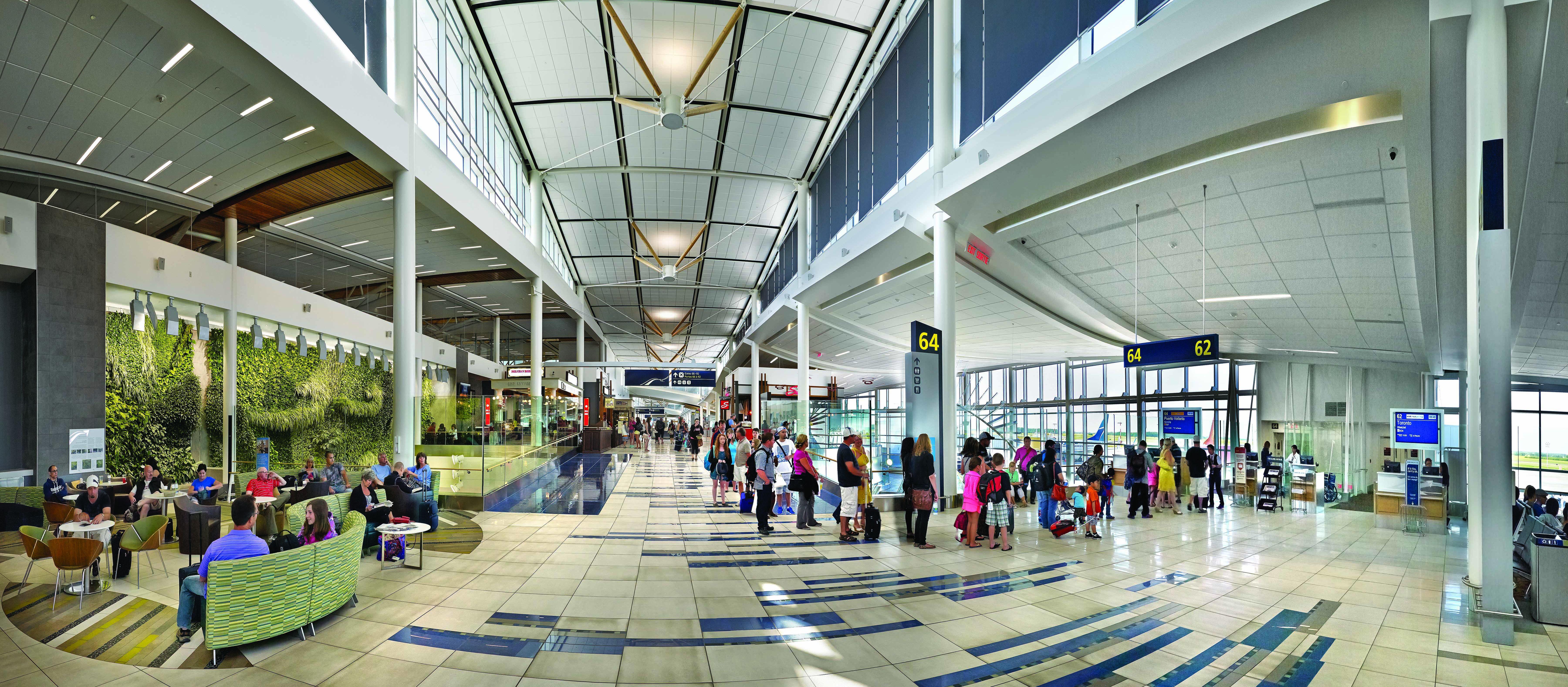 Der Adrian Warchola Flughafen in Edmonton