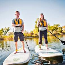 Stand Up Paddling im River Valley
