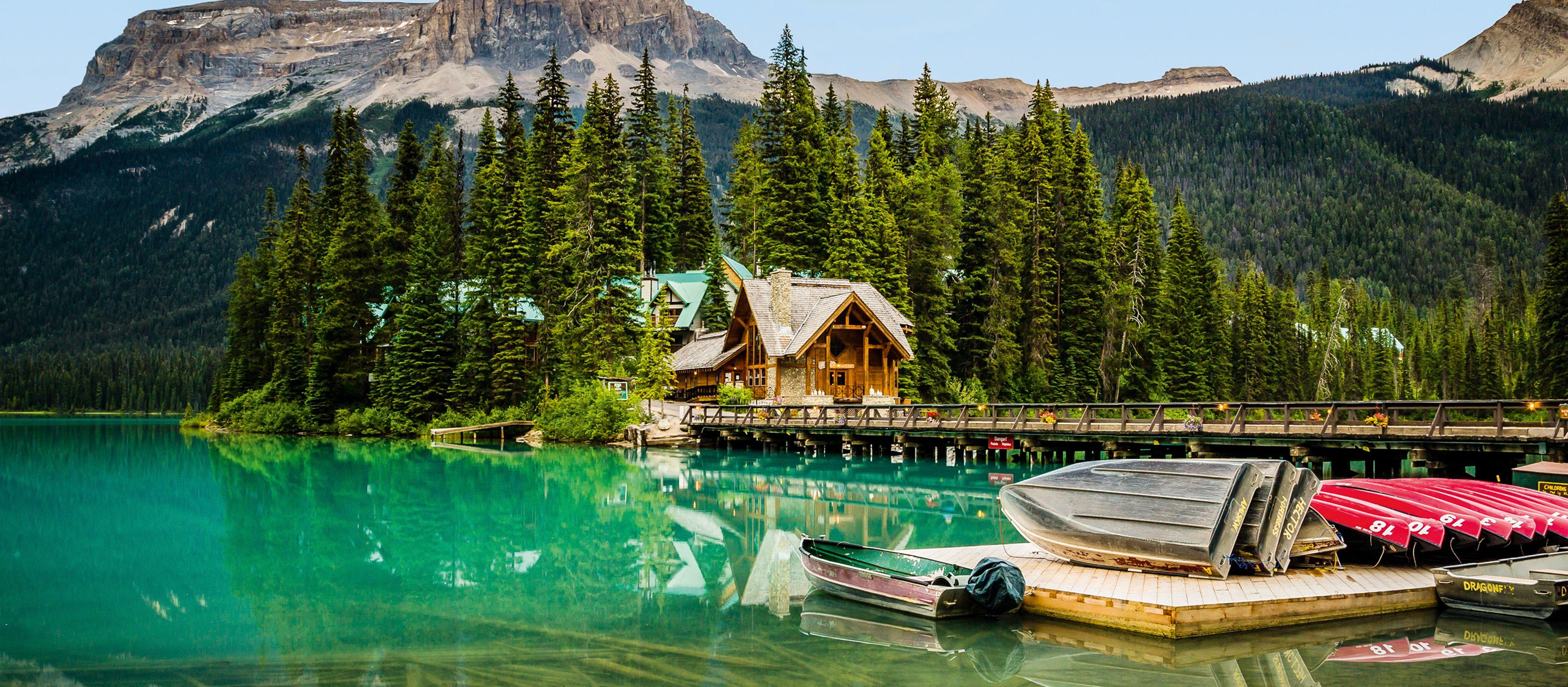 Emerald Lake Lodge im Yoho National Park