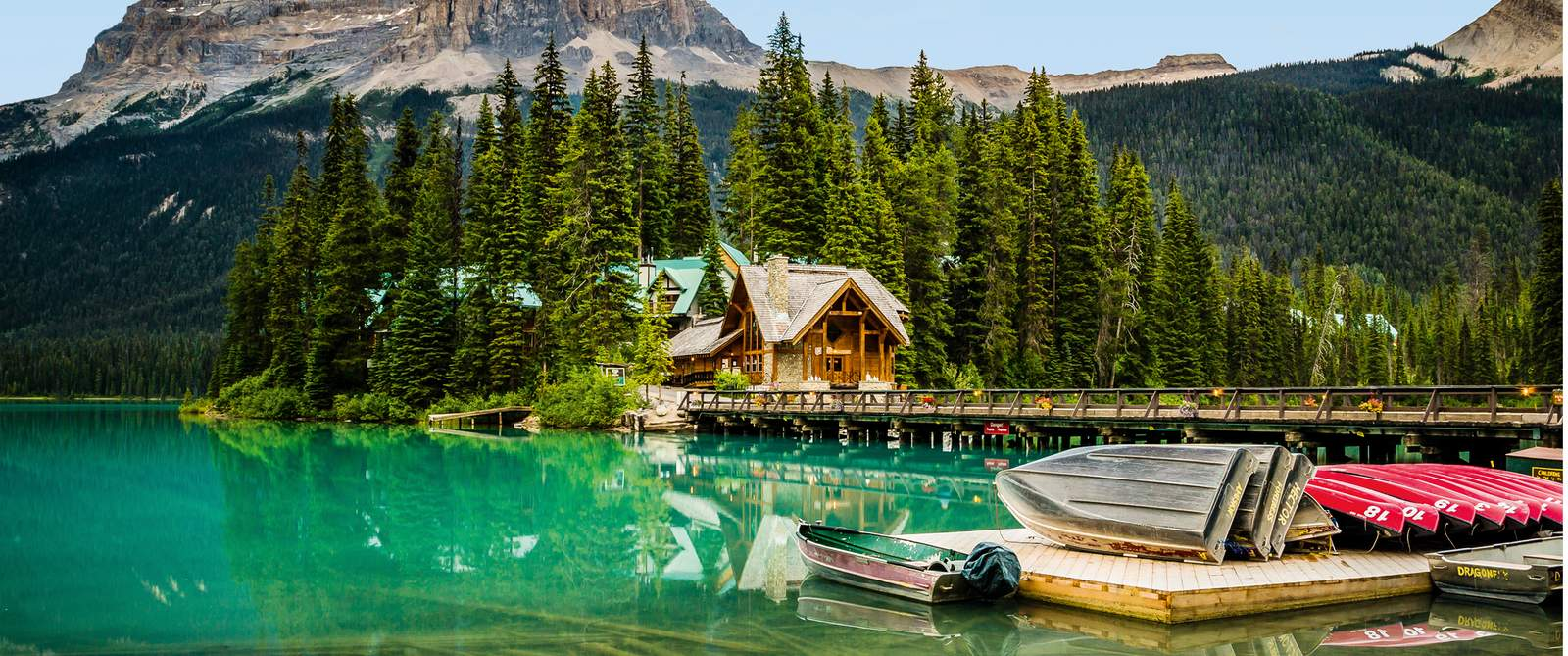 Emerald Lake Lodge im Yoho National Park