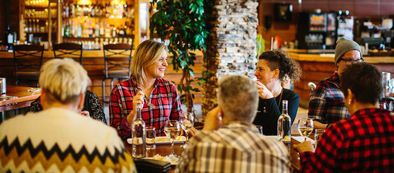 Eindrücke der Jasper Food Tour in dem Bergstädtchen Jasper der kanadischen Provinz Alberta