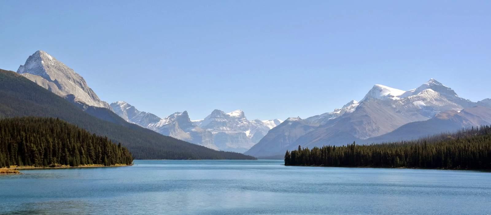 Traumhafter Maligne Lake