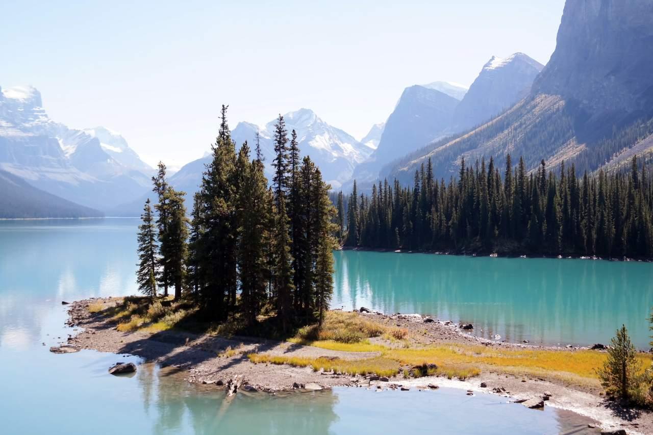 Spirit Island - Wahrzeichen der kanadischen Rocky Mountains