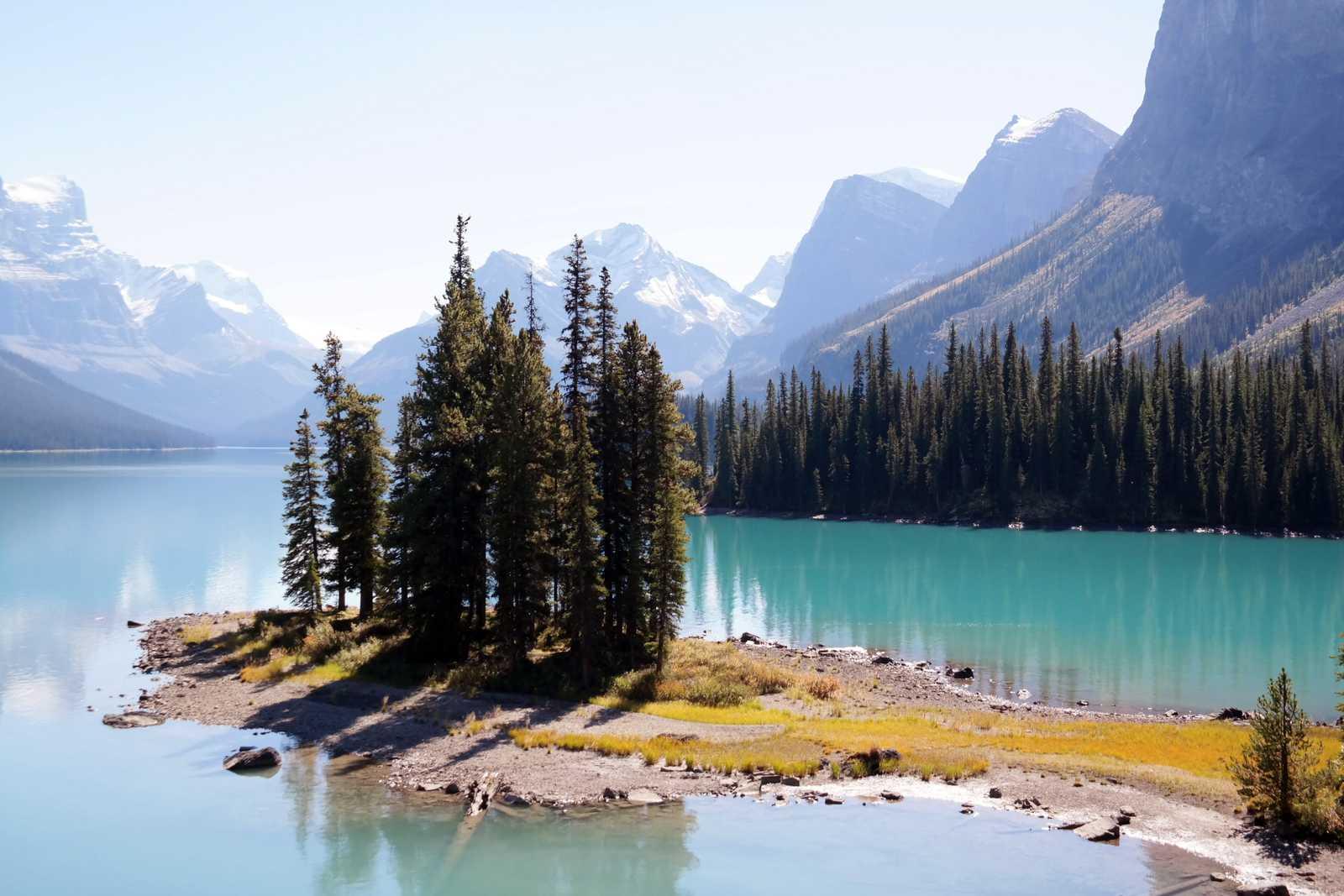 Spirit Island im Jasper National Park