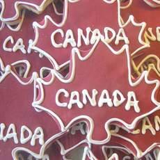 Ahornblatt - Canada Kekse