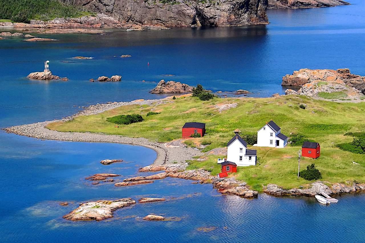 Insel in Neufundland