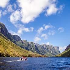 Western Brook Pond Fjord Boat Tour