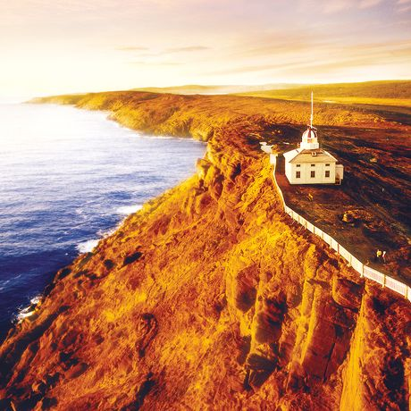Blick auf Cape Spear