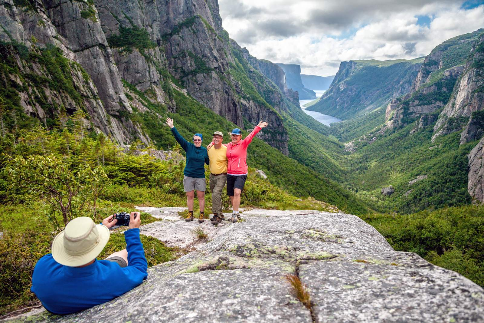 Backcountry Hiking, Western Brook Pond Fjord