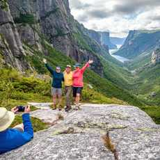 Backcountry Hiking, Western Brook Pond Fjord