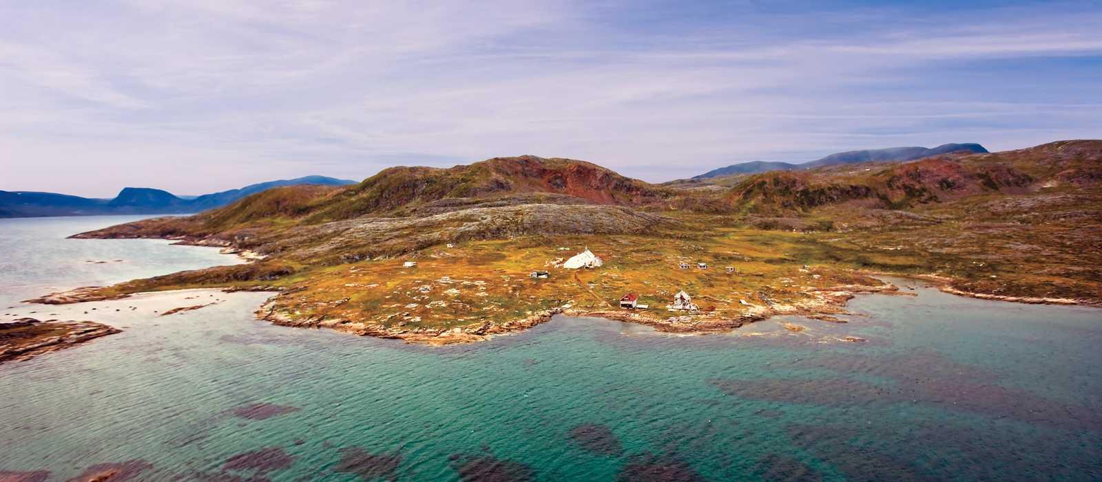 Die Küste Neufundlands