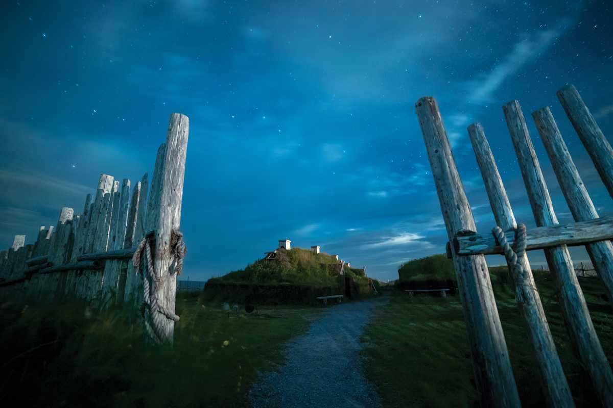 L'Anse aux Meadows in Neufundland