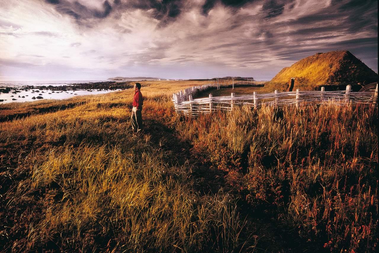 Einsamkeit in L'Anse aux Meadows