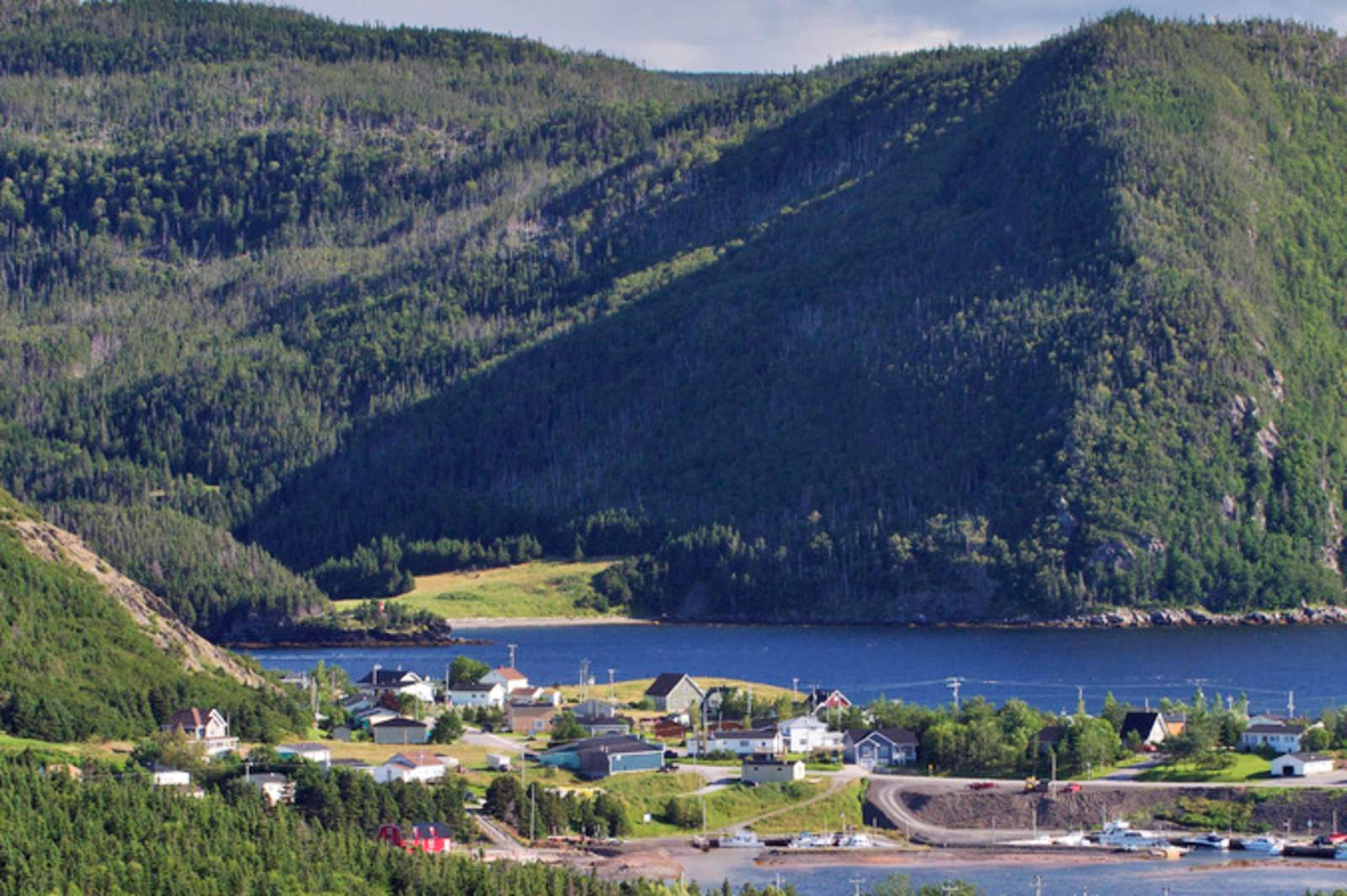 Norris Point in der Naehe des Gros Morne National Park