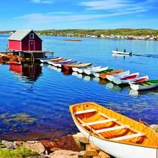 Bootshaus auf Fogo Island