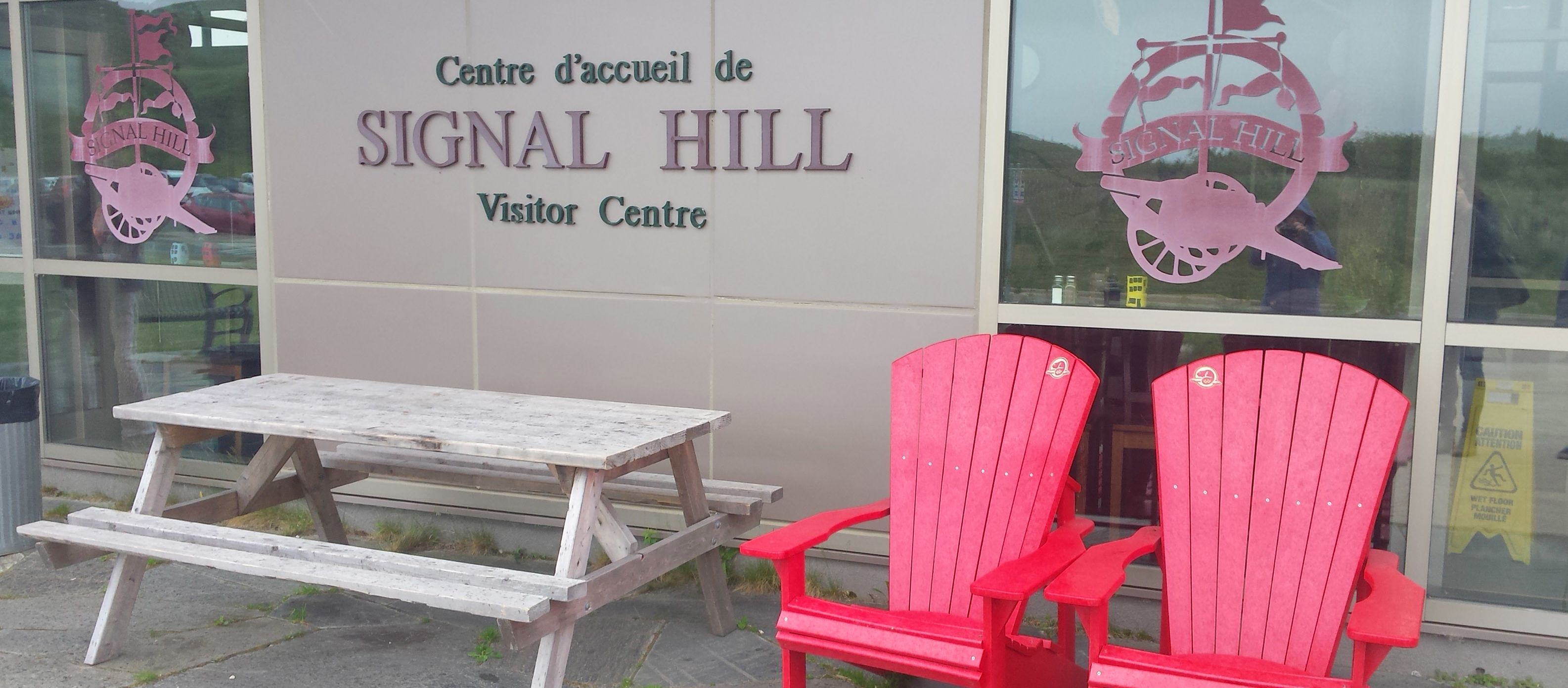Das Signal Hill Visitor Center