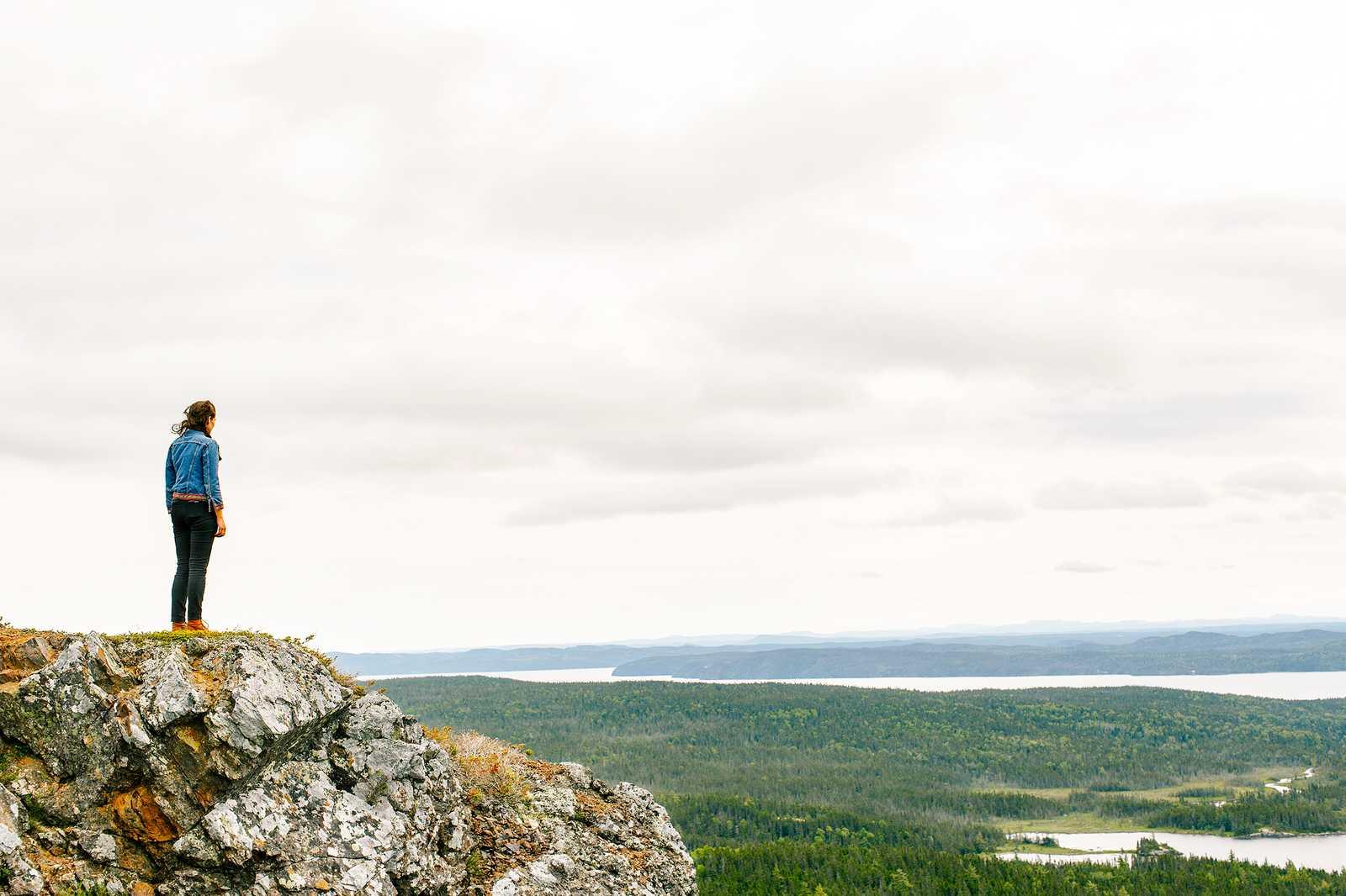 Ausblick auf die Weite des Terra Nova National Park